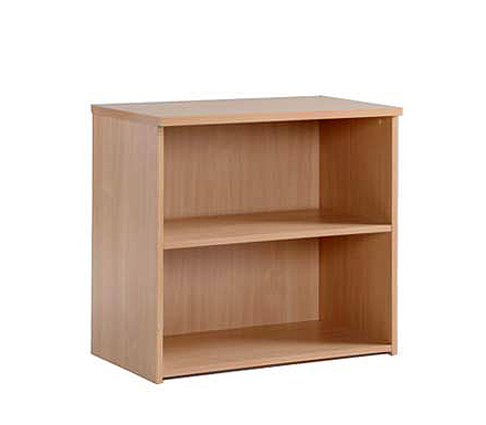 Momento Low Bookcase in Beech