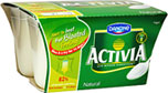 Activia Bio Natural Yogurt (4x125g)