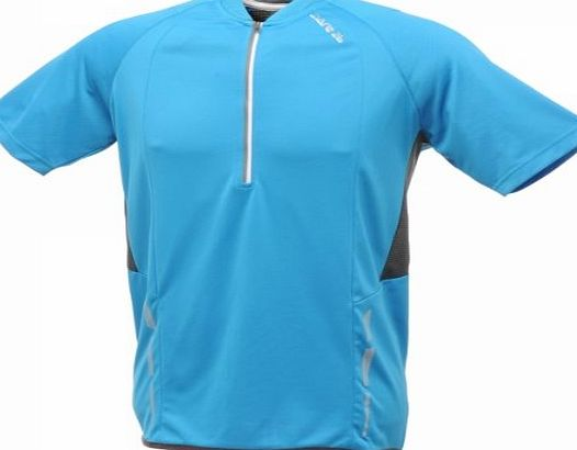 Dare 2b Mens Blue Cycling Top Cycle Jersey -Dare 2b Antics Bike Top M, L, XL