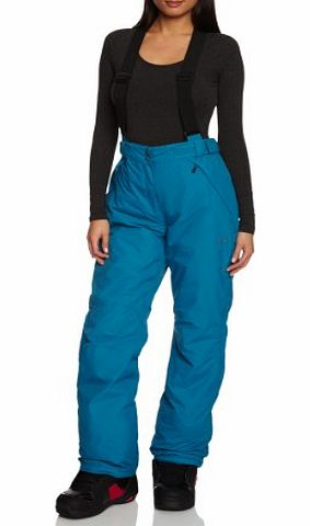 Womens Headturn Salopettes - Blue Reef, Size 16