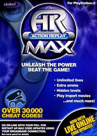 Action Replay MAX PS2