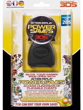 Action Replay Power Saves (Nintendo 2DS / 3DS XL / 3DS)