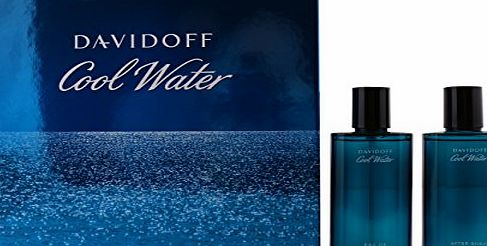 Davidoff Cool Water Set Homme Men Eau de Toilette 75 ml Aftershave 75 ml