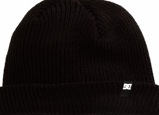 DC Clothing Mens Clap Beanie, Black, One Size (Manufacturer Size:TU)