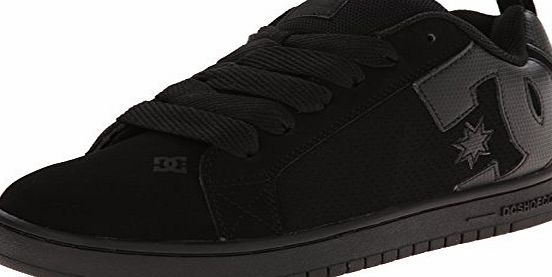 DC Court Graffik, Mens Skateboarding Shoes, Black, 8 UK, 42 EU