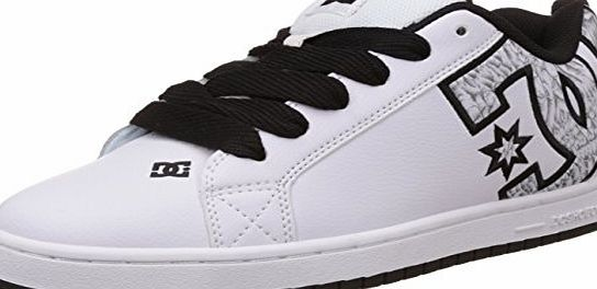DC Court Graffik S M Shoe, Mens Low-Top Sneakers, White - Weiß (WW3), 11 UK (46 EU)