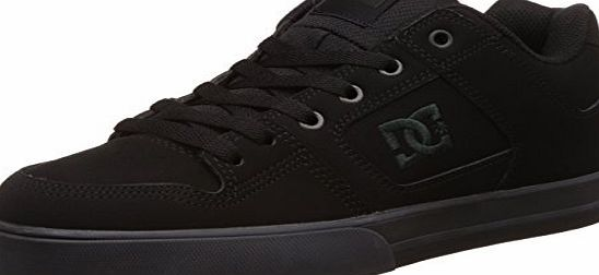 DC Pure, Mens Skateboarding Shoes, Pirate Black, 9 UK, 43 EU