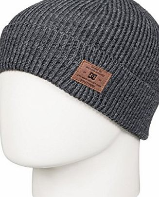 DC Shoes Mens Hubbish Beanie, Grey, One Size