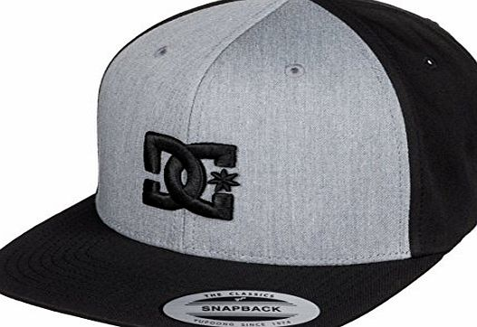 DC Shoes Snappy Cap Adults Heather - Black ADYHA00058 XSSK