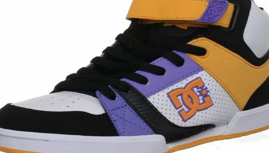 DC Shoes Womens Tricky Mid, - black blazing orange, 4 UK