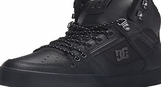 DC Young Mens Spartan High Wc Se Hi Top Shoes, UK: 7 UK, Black 3