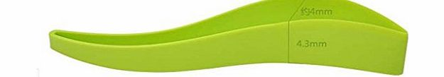 DDU New Plastic Pie Bread Cake Slicer Server Easy Cake Cutting Cutter Kitchen Tool Green