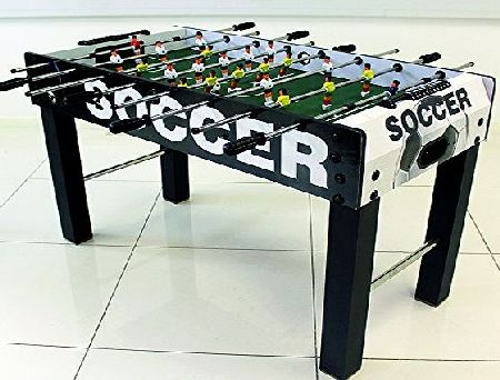 Deals Online 4FT X 2FT FREE-STANDING WOODEN FOOSBALL TABLE FOOTBALL SOCCER GAME WITH 2 BALLS