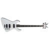 Demonator 4 Bass Guitar - Classic White