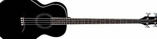 Dean Guitars Acoustic Electric Bass Guitar - Classic Black