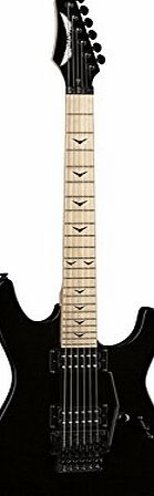 Dean Guitars Custom Zone 11 Floyd Solid Body Electric Guitar - Classic Black