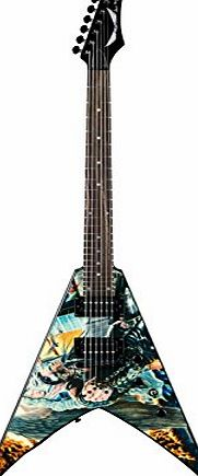Dean Guitars Dean V Dave Mustaine Guitar - United Abomination