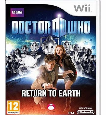 Doctor Who Return To Earth on Nintendo Wii