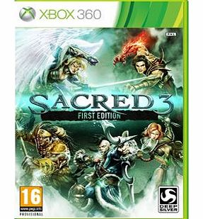 Sacred 3 First Edition on Xbox 360