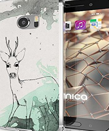 delightable24 Premium Protective Case TPU Silicone HTC 10 Smartphone - Deer