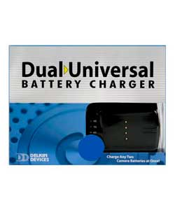 Delkin Universal Dual Battery Charger and LP-E6