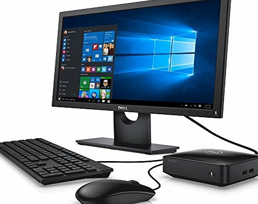 Dell Inspiron 3050 Micro Desktop (Intel Celeron J1800, 2GB RAM, 32GB SSD) with 20 inch Dell Monitor, Keyboard and Mouse