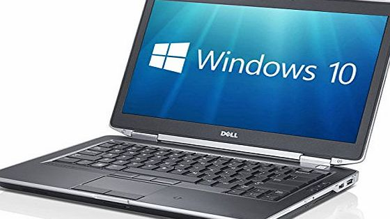 Dell Latitude E6430 14-Inch Notebook (Intel Core i5-3340M, 8 GB RAM, 128 GB SDD, Windows 10) - Black (Certified Refurbished)
