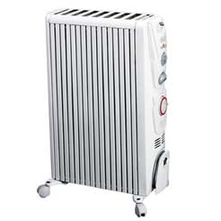 DELONGHI 2.0Kw Dragon Heater White