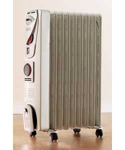 delonghi Oil Filled Radiator with Timer 2kW