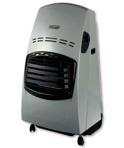 DeLonghi SBF Silver Portable Gas Heater 4.2kW