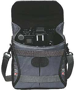 Delsey Camera Case - XEO70 - Black and Grey