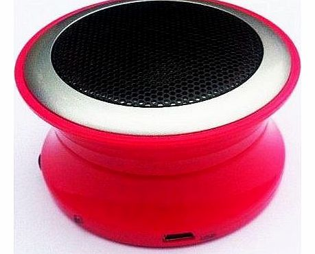 Brand New Pink Bluetooth Mini Speaker for Panasonic Mobile Phone