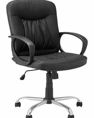 Gas Lift Managers Office Chair - Black