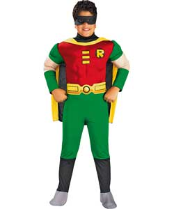 Deluxe Robin Dress Up Costume - 8-10 years