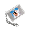 Silver Digital Photo Keyring