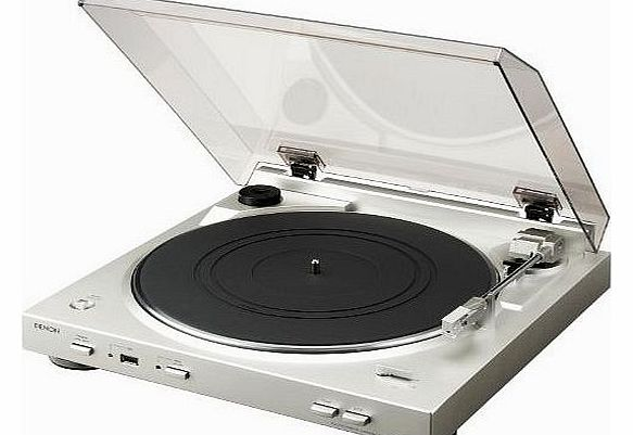 DP-200USB Turntable - Silver