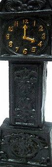 Design Toscano Time is Money Grandfather Clock Cast Iron Still Coin Bank