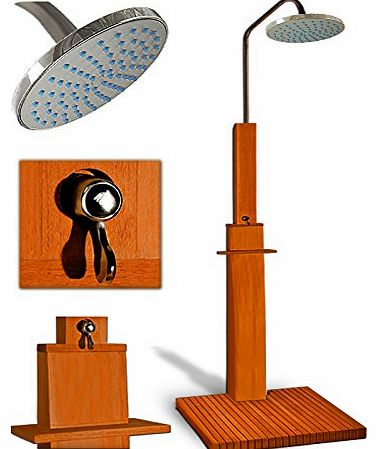 Garden shower pool showers wooden outdoor spas camping showers tropical hardwood free standing