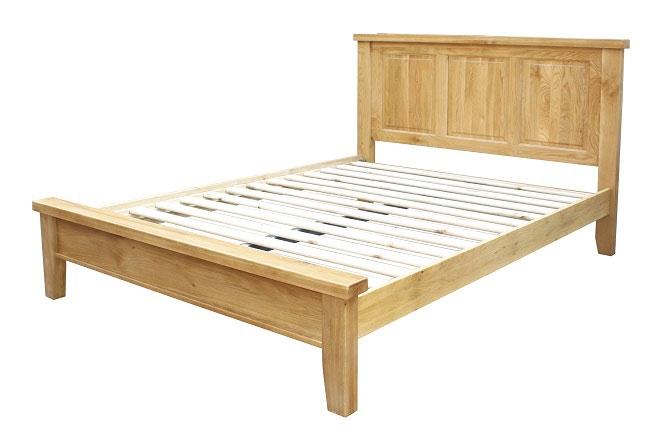 Devon Oak King Size Bed