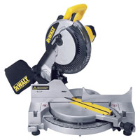 Dw703 250mm Compound Mitre Saw 110v