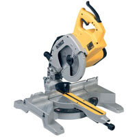 Dw707L 216mm Compound Mitre Saw 110v Plus Free Leg Stand