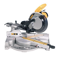 Dw712 216mm Sliding Compound Mitre Saw 110v
