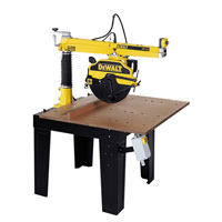Dw728K Radial Arm Saw 350mm 2200W 240v