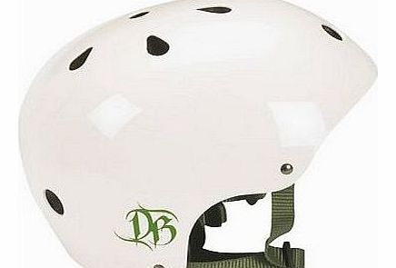 BMX Helmet - Gloss White, Medium