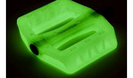 BMX Resin Pedals 9/16`` Glow in The Dark