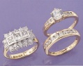 Diamonelle ring set