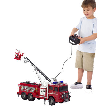 Light and Sounds Fire Engine