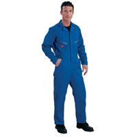 Mens Deluxe Overall Royal Blue 52 Tall Leg