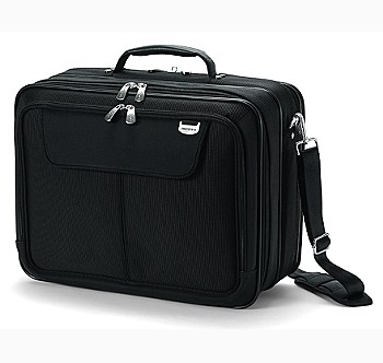 UltraCase Twin Laptop Bag Black 15 Inch