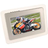 7` Super Clear Silver Digital Photo Frame